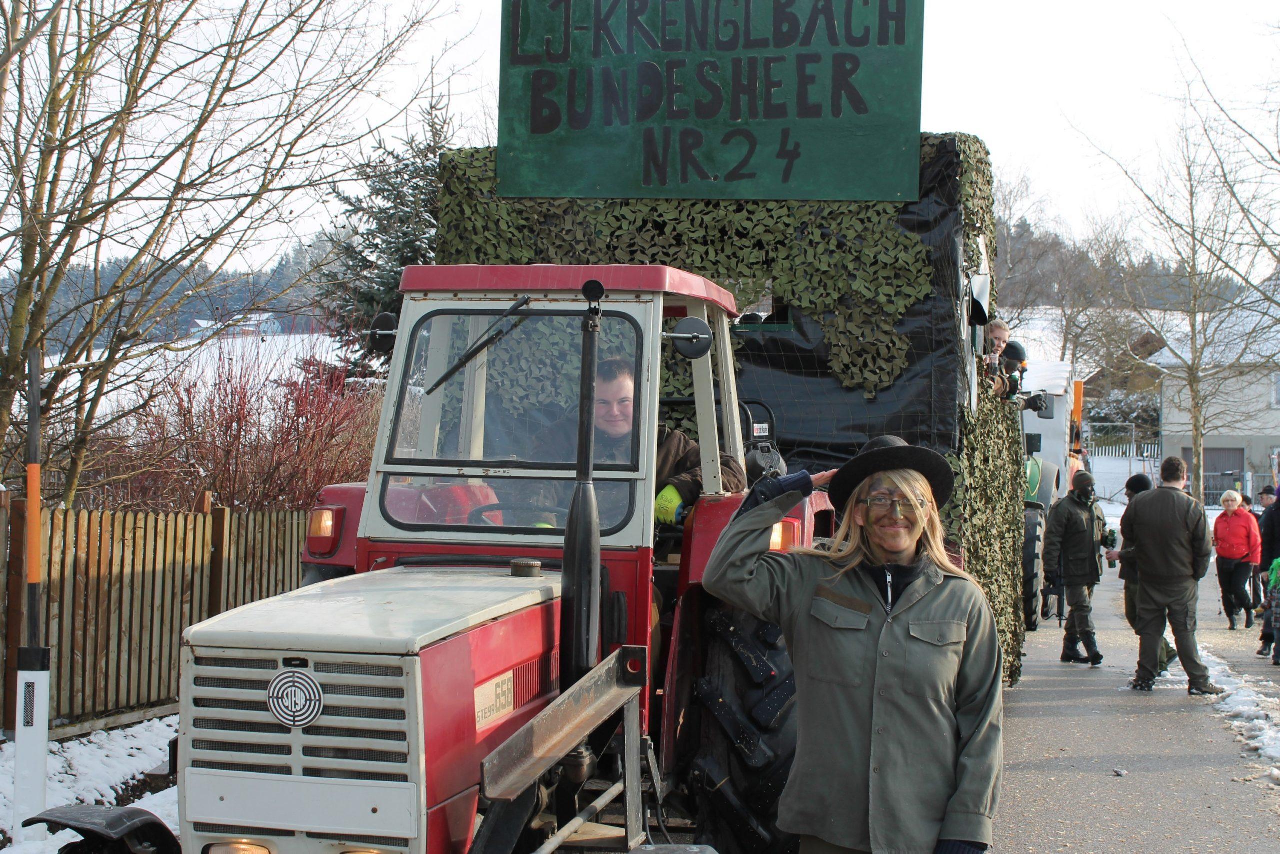 Krenglbacher Faschingsumzug 2013
