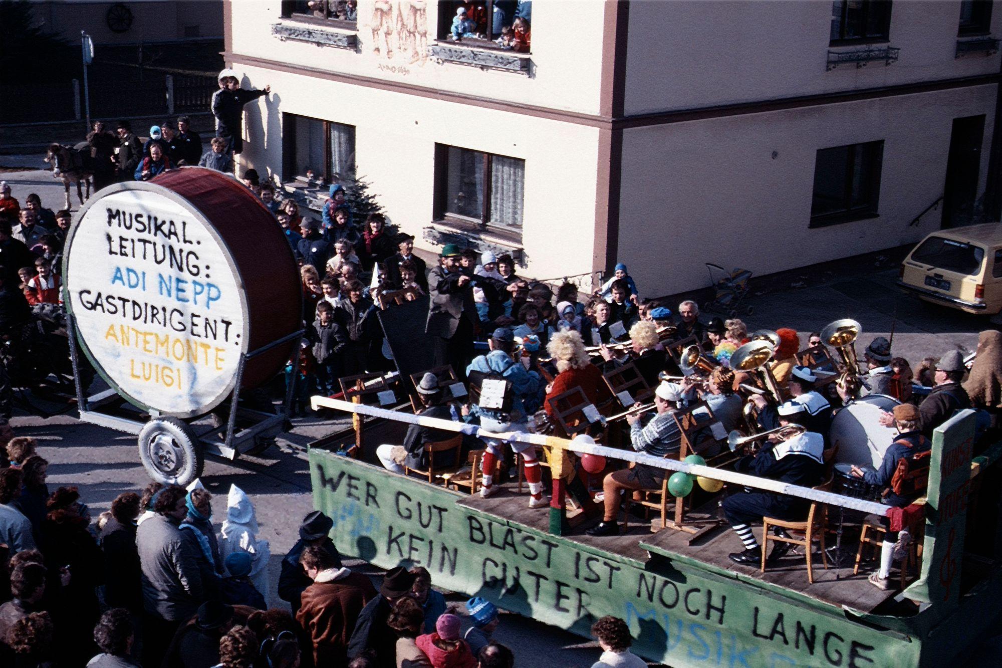 Krenglbacher Faschingszug 1980er