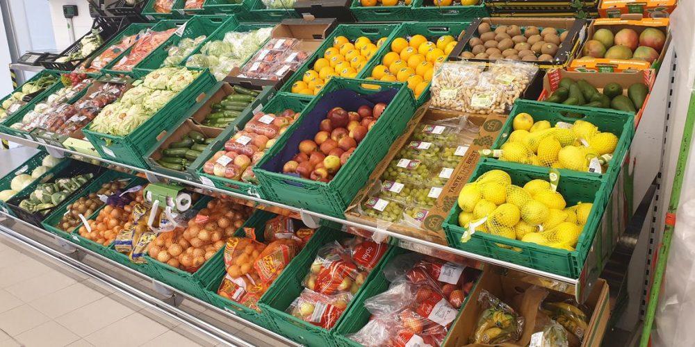 Unimarkt in Krenglbach – 1. Schritt Kommissionierlager