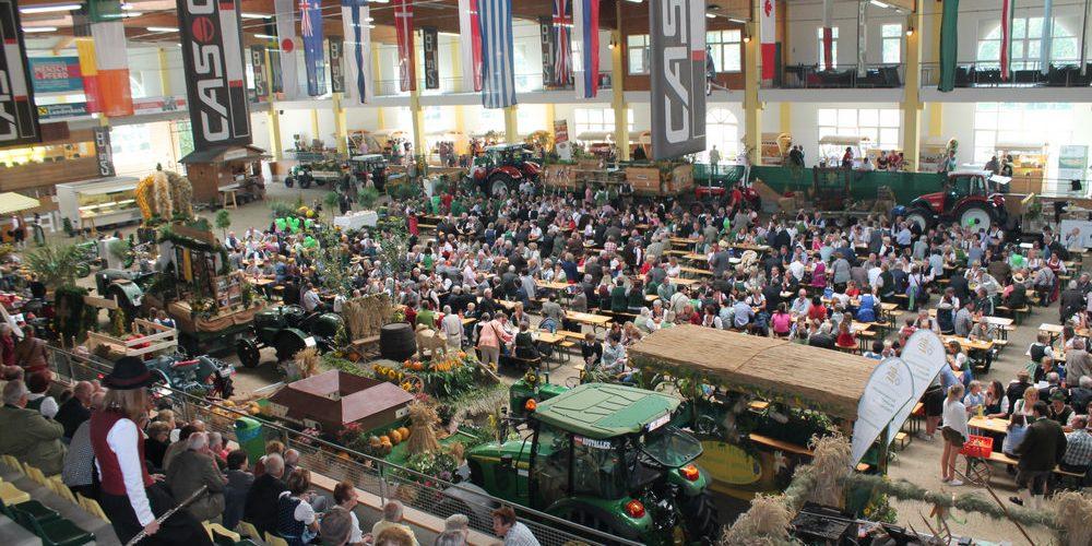 Bezirkserntedankfest in Lambach / Stadl Paura 2015