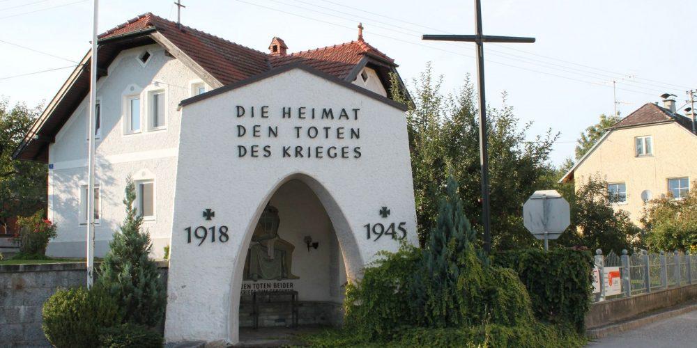 Kriegerdenkmal wird renoviert